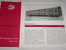 Göwa - Doppelstock - Personenwagen 1524 mm Spurweite für die UdSSR - prospekt