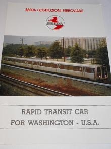 Breda - Rapid transit car for Washington - U.S.A. - prospekt