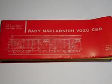 Řady nákladních vozů ČSD - Technický popis - 1965 - Zahradník, Calda, Kouba