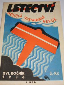 Letectví 2/1936 - měsíční ilustrovaná revue - XVI. ročník
