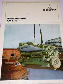 KHD - Deutz Dieselmotoren AM 528 - prospekt - 1974