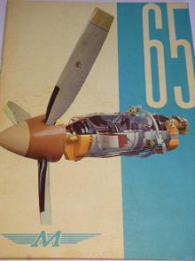 Motorlet - 65 let  - Walter, Aero, Delfín... 1976