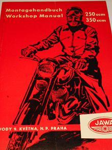 JAWA 250/353/03/04, Jawa 350/354/03/04 - Montagehandbuch - Workshop Manual