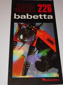 JAWA 226 babetta - Mototechna - prospekt