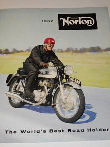 Norton 1962 The World´s Best Road Holder - prospekt