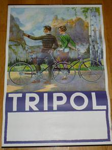 Tripol - jízdní kola - plakát - reklama