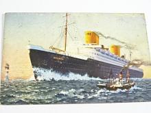Norddeutscher Lloyd Bremen - Vierschrauben Turbinen Schnelldampfer Bremen - pohlednice