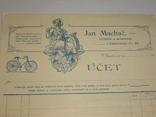 Jan Machač - účet