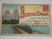Scenic Utah - Souvenier Folder