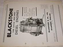 Blackstone - Diesel Engines - prospekt