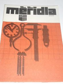 Osan - měřidla - katalog - 1986