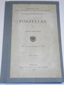 Porzellan - Adolf Brüning - 1907