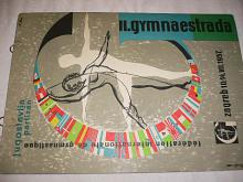 Zagreb - II. gymnaestrada, 10. - 14. VII. 1957 - reklama na kartonu