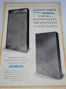 Ocelové skříně Jenocel - prospekt